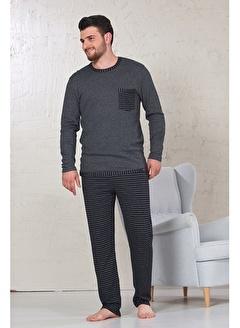 Siyah İnci Pijama Takım